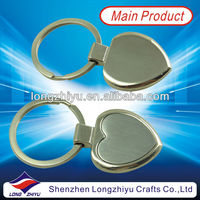Cheap custom promotion dental mirror key chain