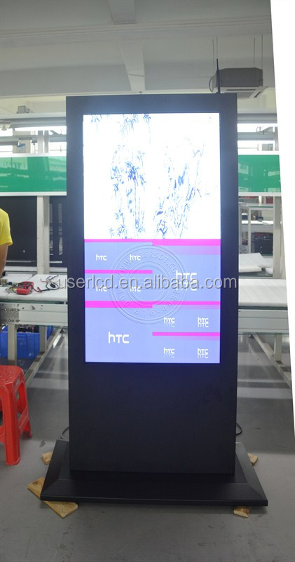 High brightness LCD DIGITAL signage for ourdoor use