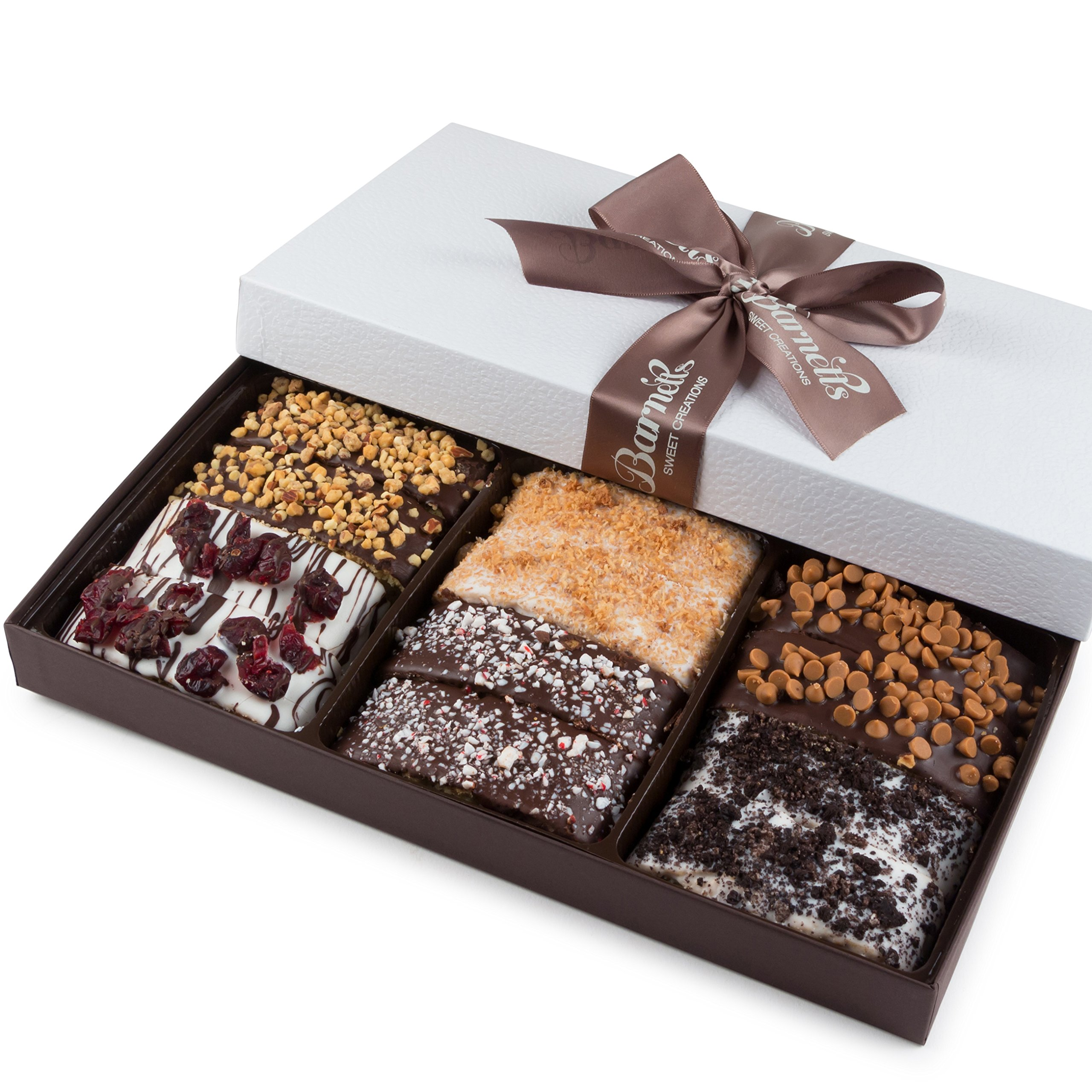 Get Quotations Barnetts Gourmet Chocolate Valentines Biscotti Gift Basket For Him Her Man Woman Unique Corporate Well