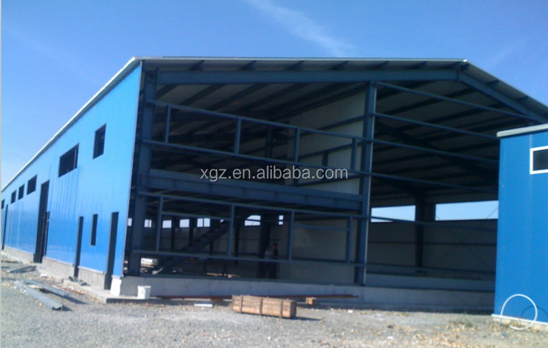 galvanized steel frame greenhouse project