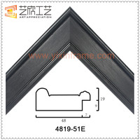 PS Moulding Factory Supply 25x35 Photo Picture Frame Moulding Imitation Wooden Photo Frames