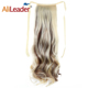 AliLaader 20 Inches Body Wave Ponytail Fake Hair Ponytail Hair Bundles For Women