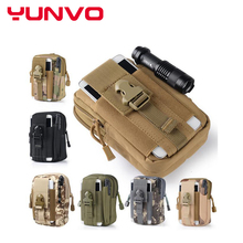 Tactical Molle Pouch Belt Waist Pack Bag Pocket Military Waist Fanny Pack Phone Pocket for Samsung Galaxy S6