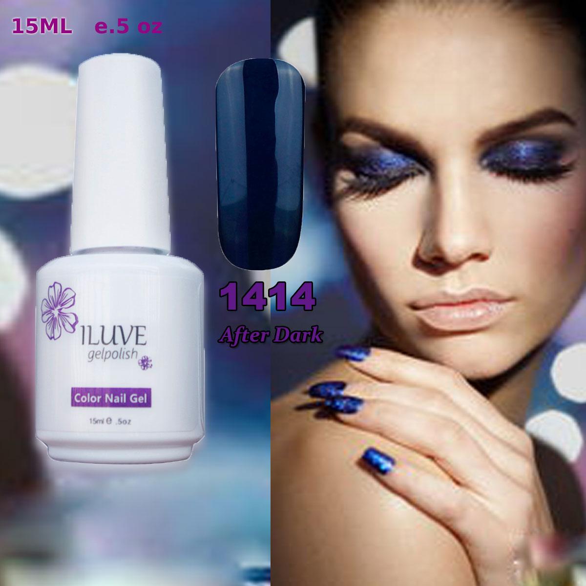 New Year Sales iLuve Professional Gelpolish New Fashion Gel Nail Polish Soak off Gel LED UV
