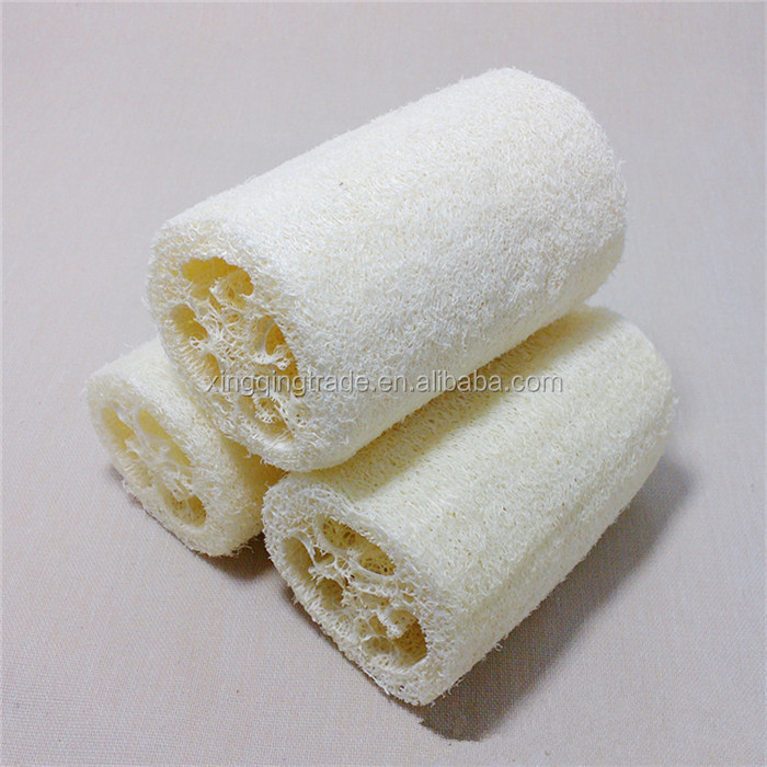 Natural Loofah Loofa Bath Brushes Spa message Body Scrubber Horniness Remover bathroom accessories