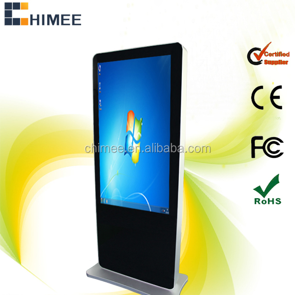 "55"" hot selling touchscreen lcd all in one computers(Intel 1037U/i3/i5/i7 optional)"