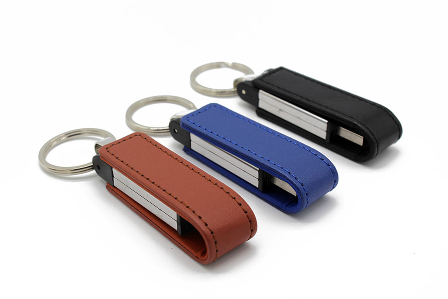 Logo Printed Full Capacity 8gb 16gb 32gb Memory Disk Leather 64gb Pendrive 128gb Usb Flash Drive