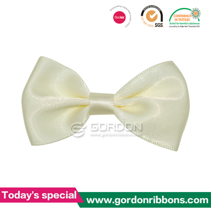 Top Quality Underwear Satin Ribbon Bow