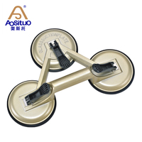 high quality treble 3 claw suction cup glass vacuum lifter glass door and window tool