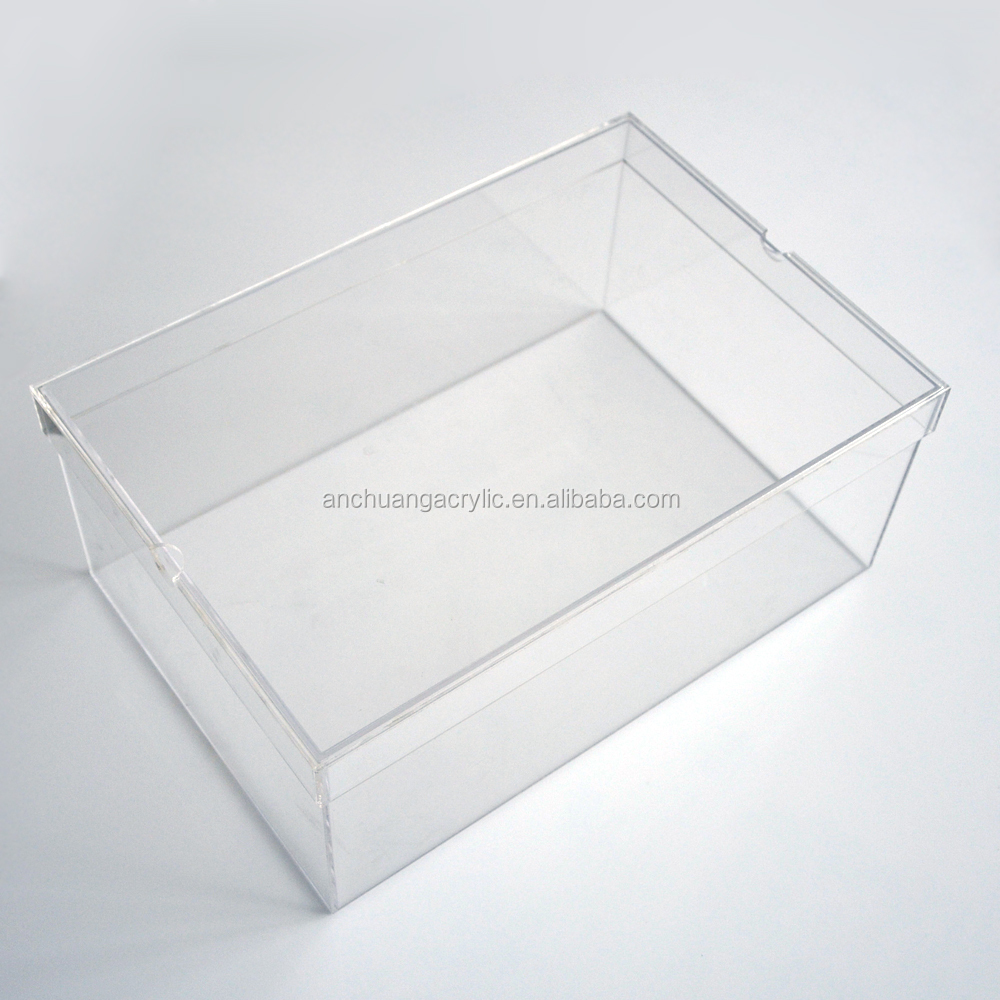 Clear Hard Plastic Shoe Box Buy Clear Acrylic Shoe Boxes