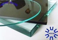Furniture Use// TEMPERED GLASS & TOUGHED GLASS with C edges Polished