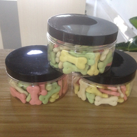 four color biscuit pet treats dog snacks dry dog cookie