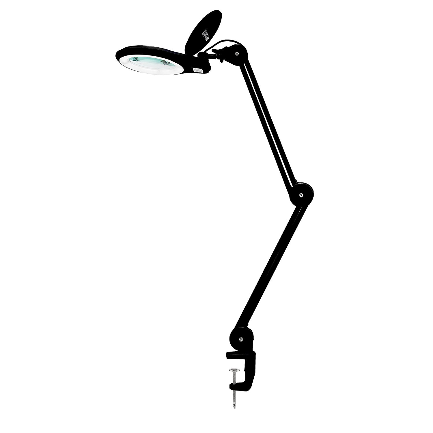 """Neatfi 1,200 Lumens Super LED Magnifying Lamp with Clamp 