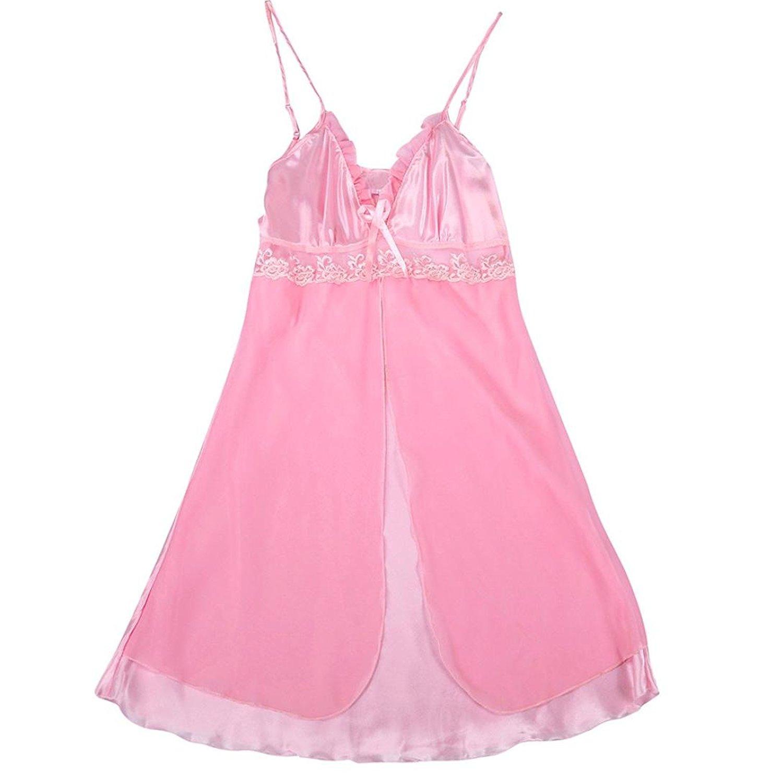Lingerie.Wqueen Women Lace Napping Sexy Lingerie Fashion Sexy Lace Plus Size Babydoll Set Sleepwear Underwear