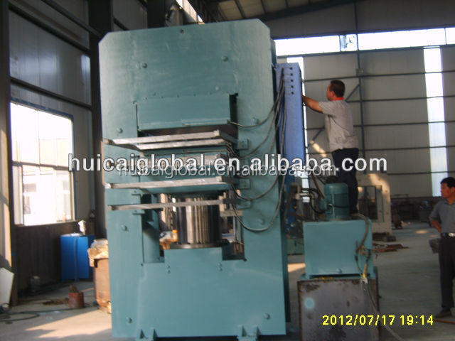 rubber compression molding press machine