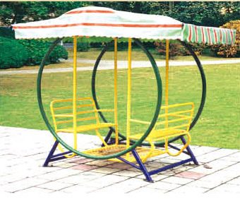 Fine Quality Round Garden Swing Seat With Canopy Shift Set Plans Qx
