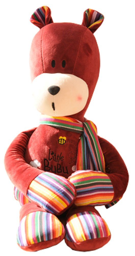 Lovely Red Bear Plush Toy Creative Bear Pillow Birthday/Valentine's Day Gift