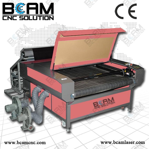 Bcamcnc Favorites Compare auto feeding laser cutting machine for fabric / cloth / leather