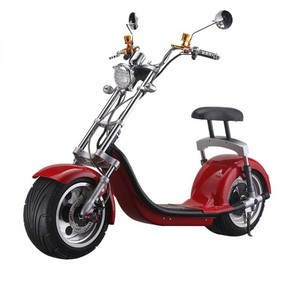 Newest Warehouse Stock Citycoco 1000W 1500W Fat Tire Electric Scooter With EEC