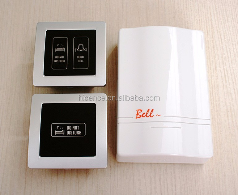 4 buttons Hotel Touch Switch with MODBUS System