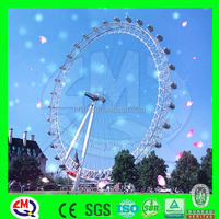 International standard fiberglass amusement christmas decor ferris wheels