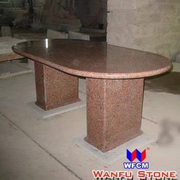 Marple Red Oval Granito Mesa De Comedor Superior - Buy Granito Mesa ...