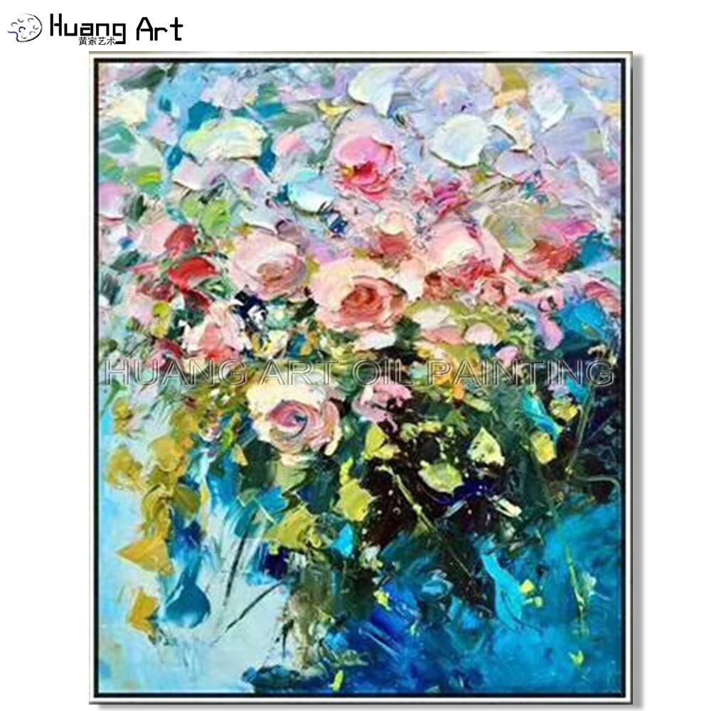 Venta Al Por Mayor Diseño De Flores Para Pintar En Tela