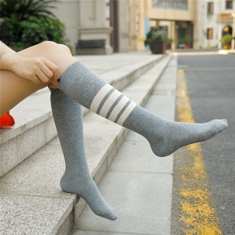Nudist girls in socks