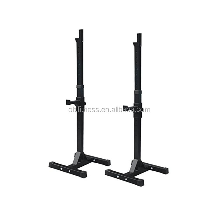Fitness Gym Barbell Power Training Adjustable Squat Rack