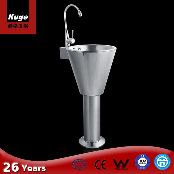 Alibaba China gold suppliers pedestal basin for motor homes