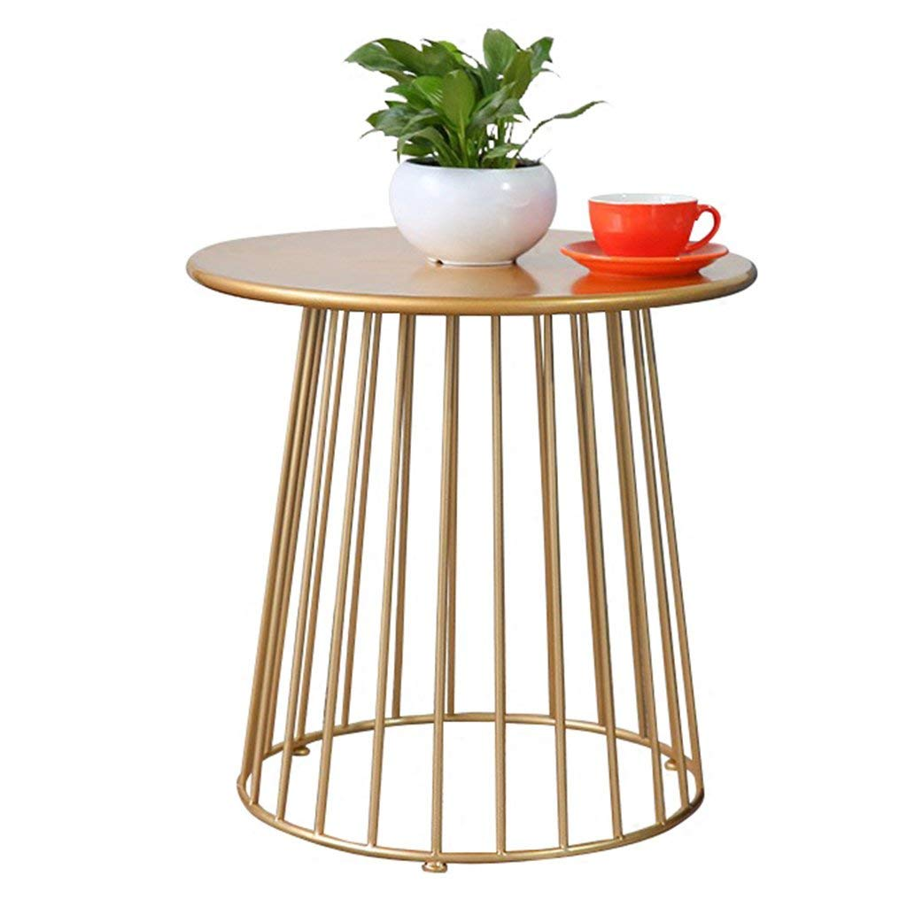 Coffee Tables Small Table Iron Art Side Small Mini Round Table Corner a Few Sofa Side Side Table Bedside Table Bedroom Tables