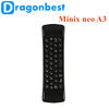 Minix neo A3 Wireless air mouse 3d smart tv box wifi remote control with best quality and low price Keyboard Voice
