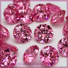 Factory Wholesale Diamond Faceted Cut Names Pink Loose Gemstone