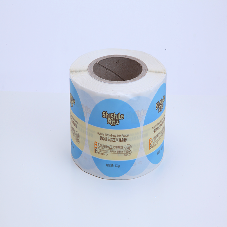 Customized warranty sticker waterproof baby product daily label wholesale