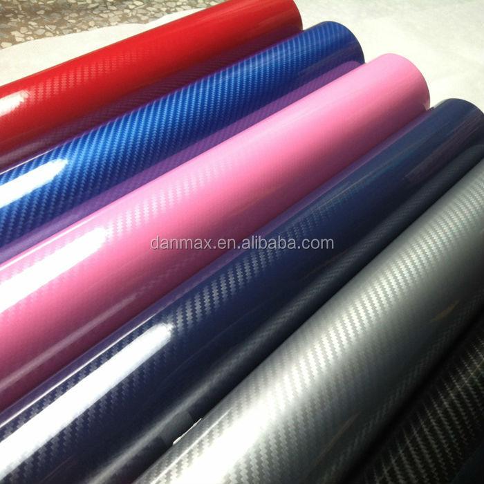 High Stretch Glossy Air Bubbles 5d Carbon Fiber Water Transfer Printing Film Buy Carbon Fiber