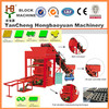 Canton Fair for QTJ4-26 small block Production Line including Concrete Block Making Machine