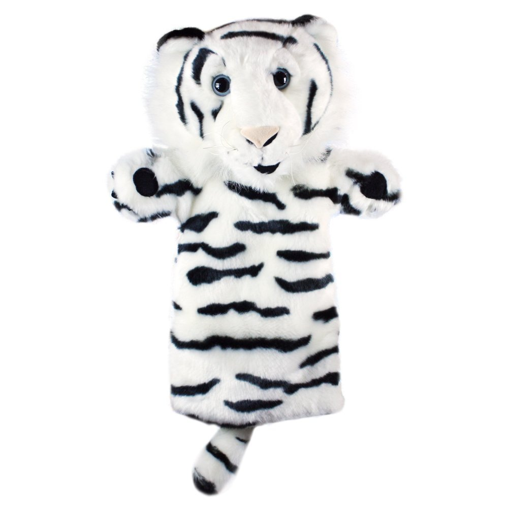 The Puppet Company - Long-Sleeved Glove Puppets - Tiger (White)