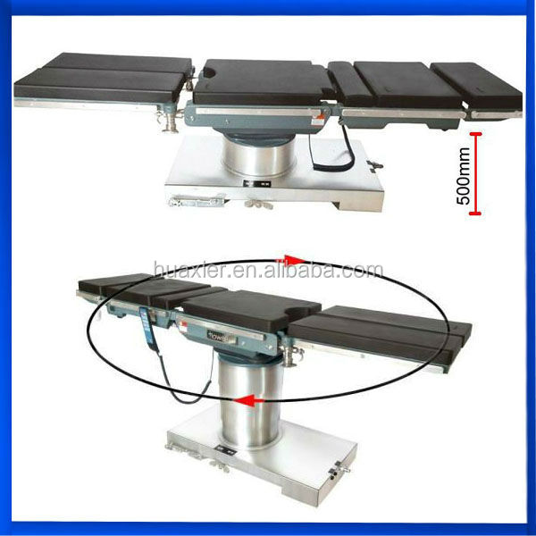 Hospital Clinic Electric Operating Table for patients