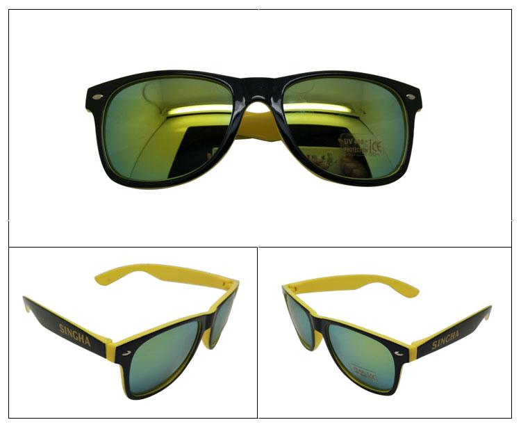 Free sample Most popular LOGO printed advertising sunglasses