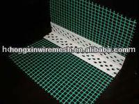 high quality PVC corner with fiberglass mesh