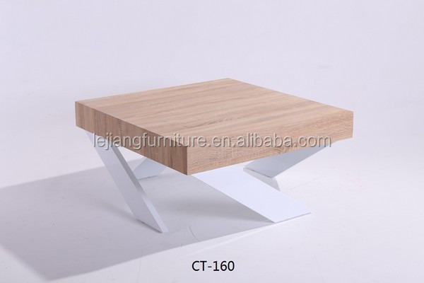 Cheap Elegant home furniture modern wood coffee table