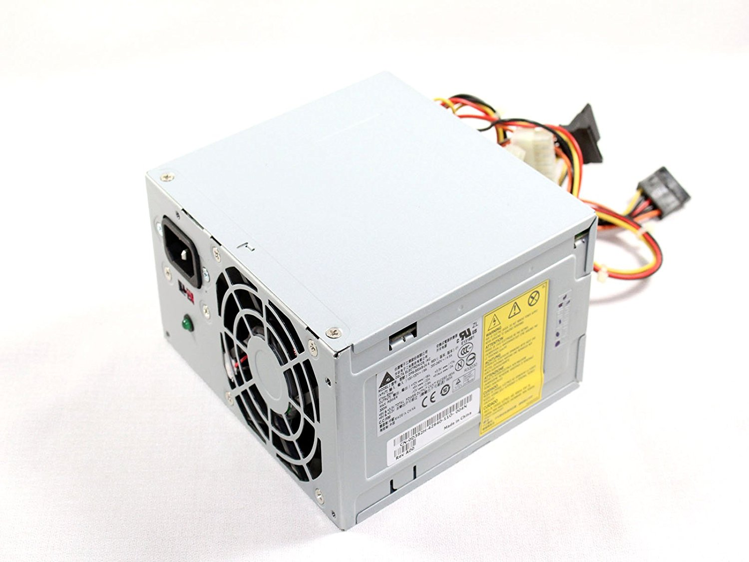 Genuine 250 Watt-300 Watt Power Supply Replacement. Features: 280 Watt-300 Watt Max Output, 100-127V or 200-240V Input, Dimensions: 5 7/8 W x 3 3/8 H x 5.5 D - Inches, For Dell Vostro 200 / 201 / 400 / 220 Mini Towers (not Slim towers!!), For Dell Inspiron 530 / 531 / 541 / 518 / 519 / 537 / 545 /