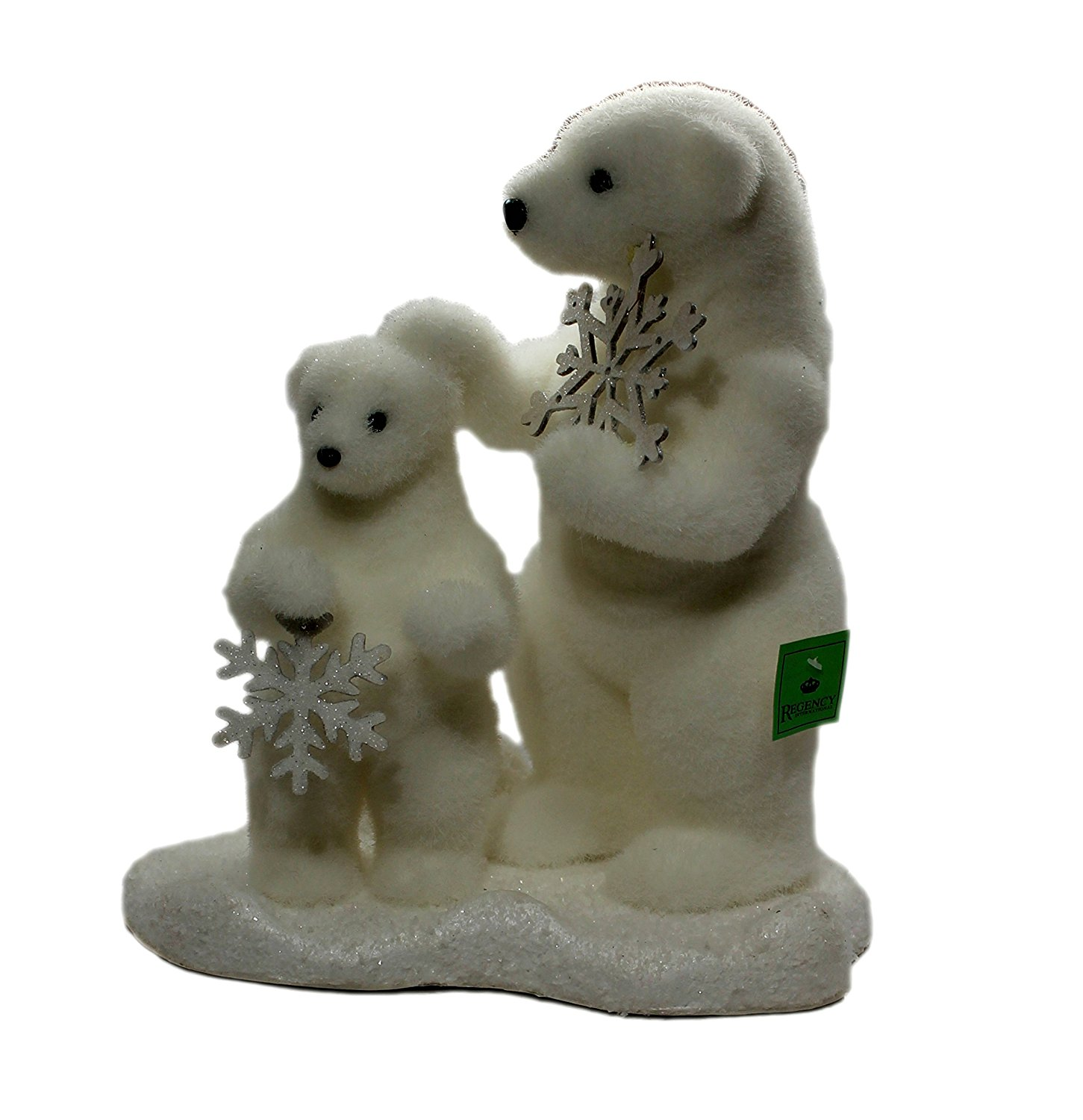 get quotations regency polar bear with baby bear decor christmas decoration - Outdoor Polar Bear Christmas Decorations