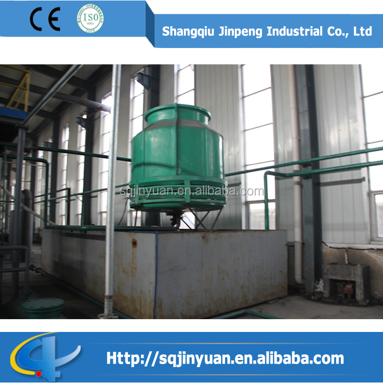 Good Quality Waste tire recycling pyrolysis plant/Used engine oil distillation equipment