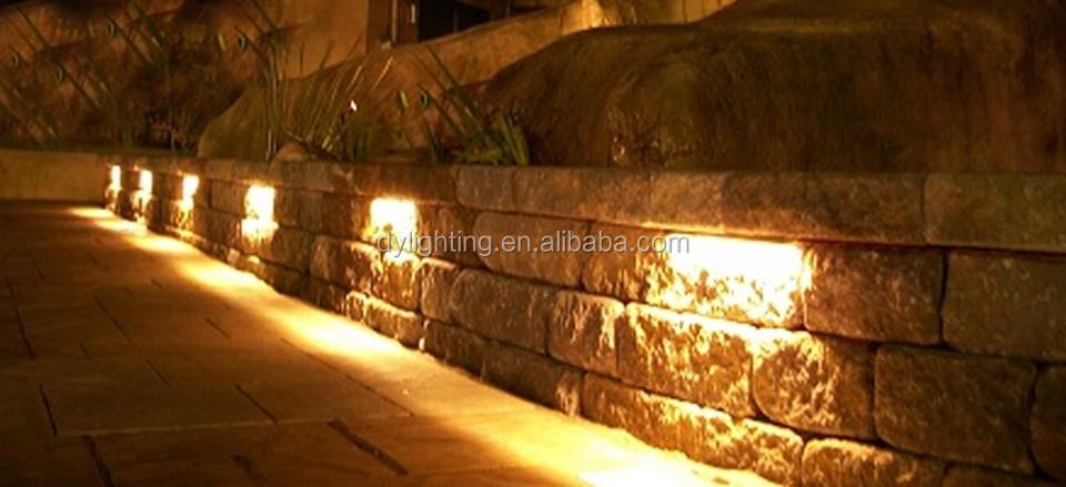 Led 12v Under Deck Rail Stone Cap Light Masonry Retaining