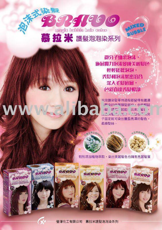 Bubble Hair Color Mousse - Buy Hair Dye Mousse Product on Alibaba.com