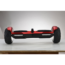 2017 newest 2 wheel big wheel self balancing electric scooter off road hoverboard 8.5 inch with LED light