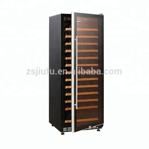 Glass Door Display Wine Cooler 100 Bottles 288L Zanussi Compressor Wine Cellar