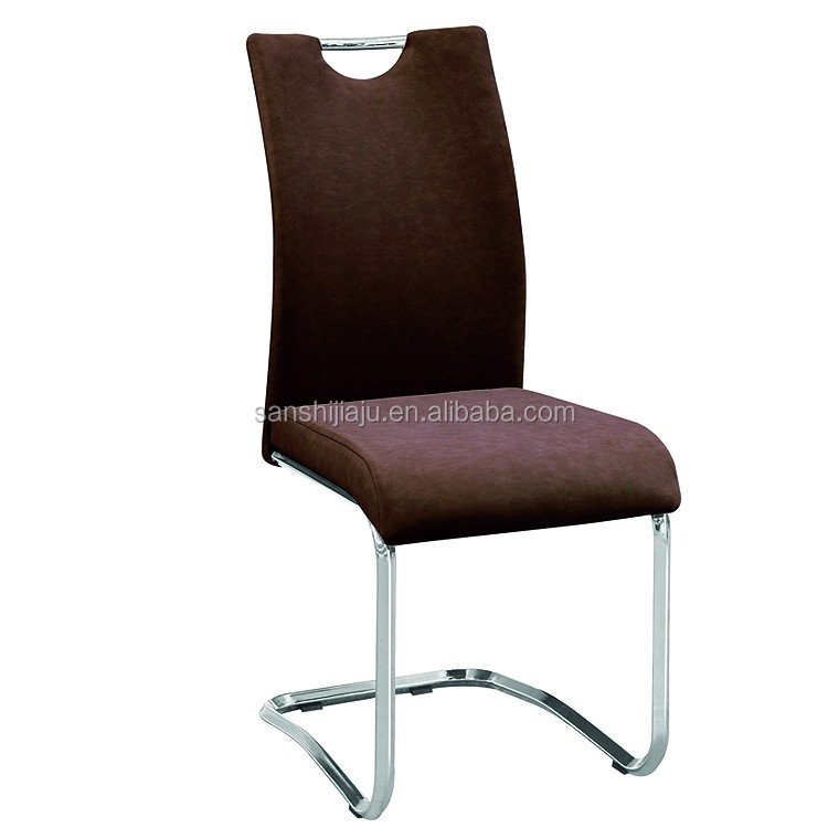Cheap modern furniture leather chair z shaped sponge for Colorful leather dining chairs