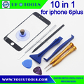 10in1 Front Screen Glass and Opening Screwdriver pry Tools set for Apple iPhone 6plus